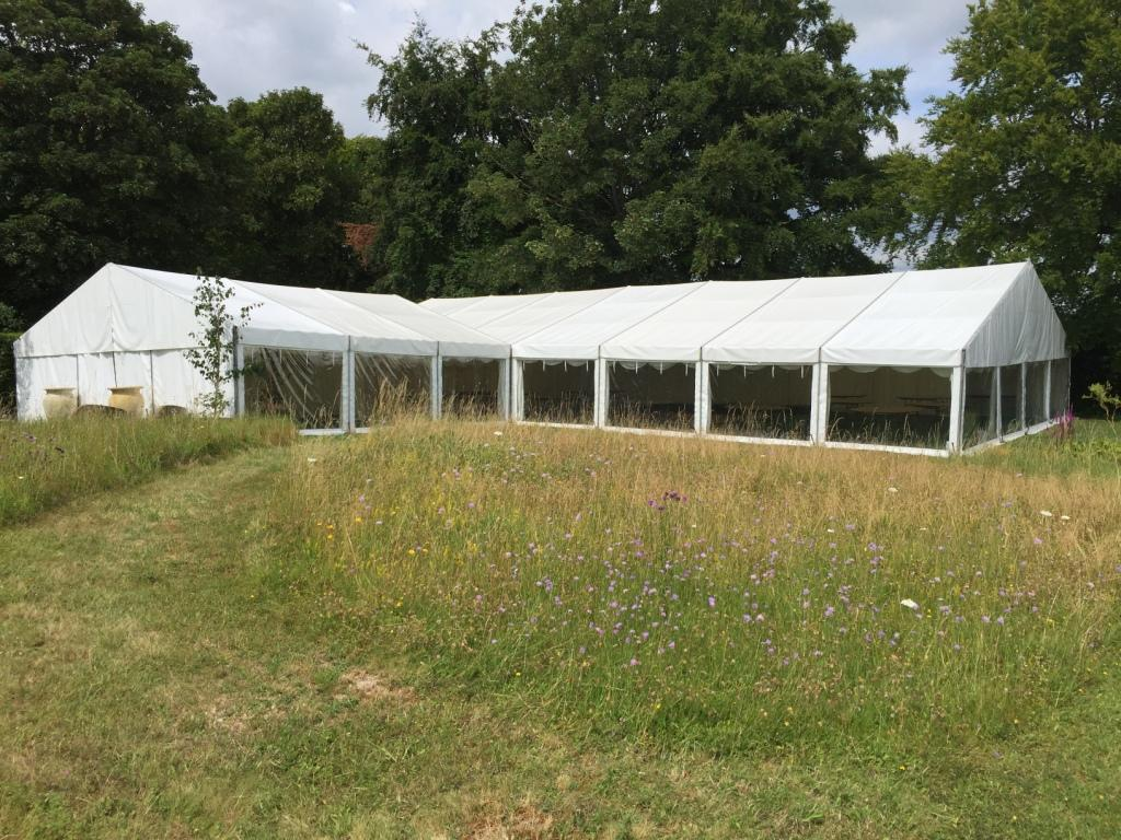 Panoramic marquee windows