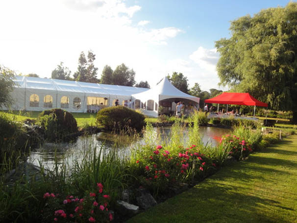 Summer Garden Party in a Marquee