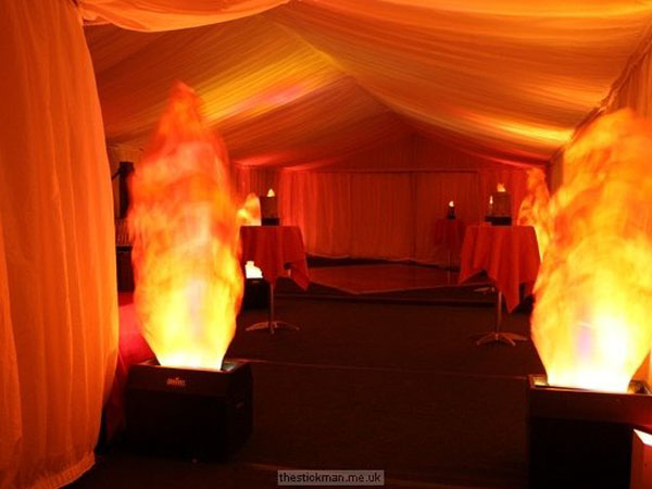 Flame Effect in Marquee