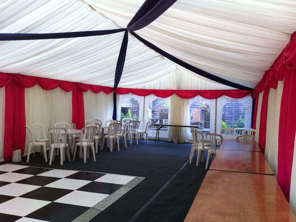 Marquee Linings and Overlays