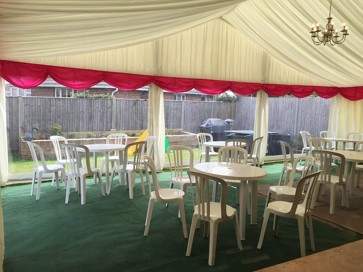 Christening Marquee