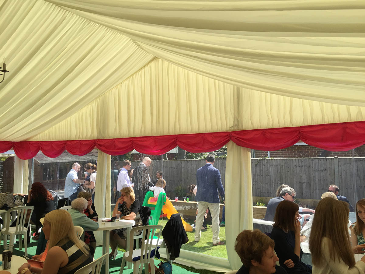 Christening Marquee 2