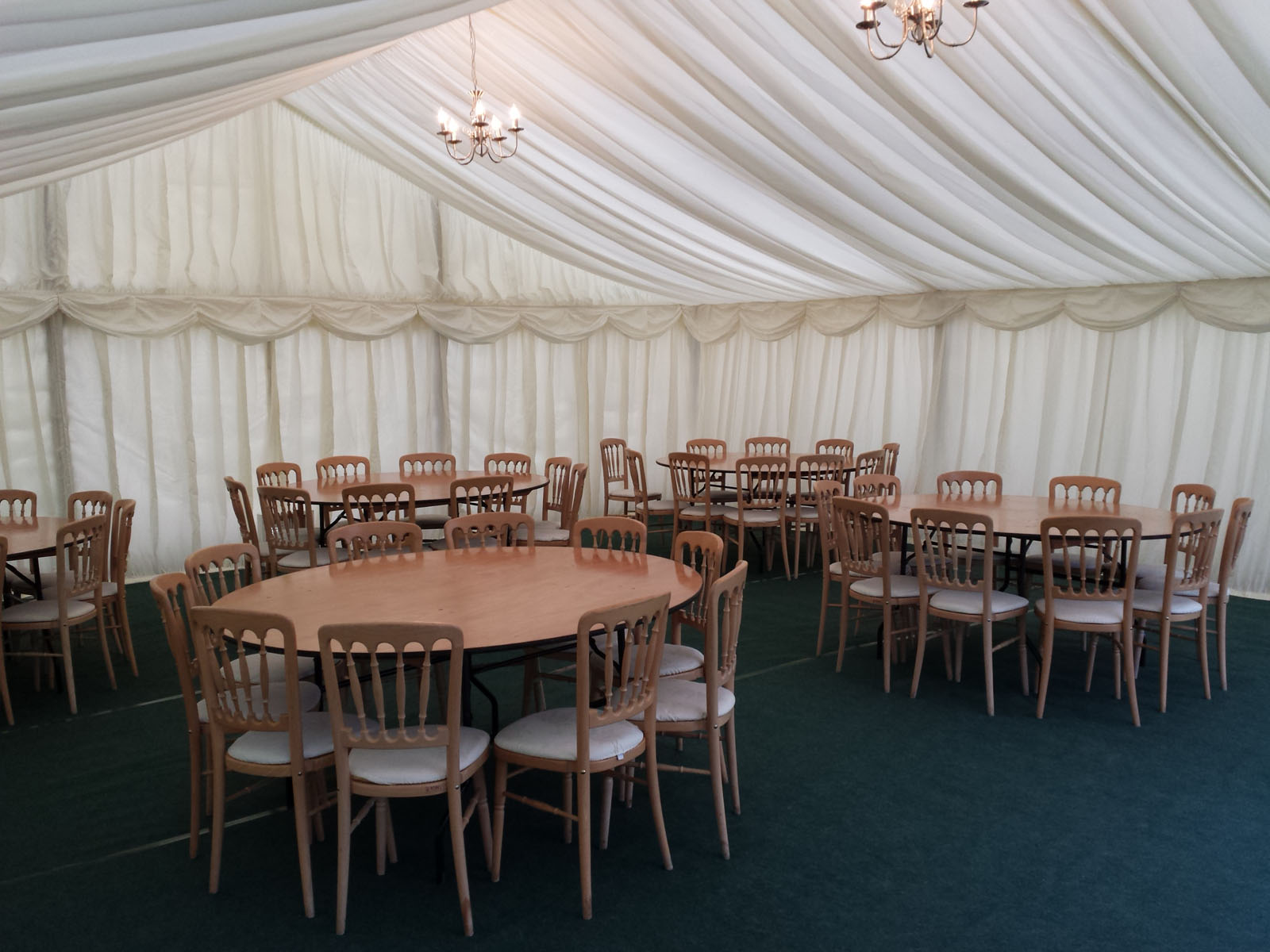 Party in a Marquee in Surrey
