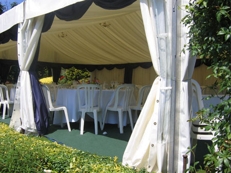Marquee with Open Sides
