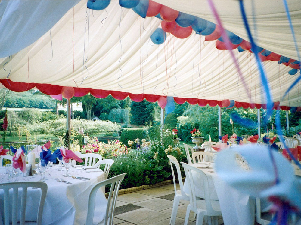 Marquee on Patio