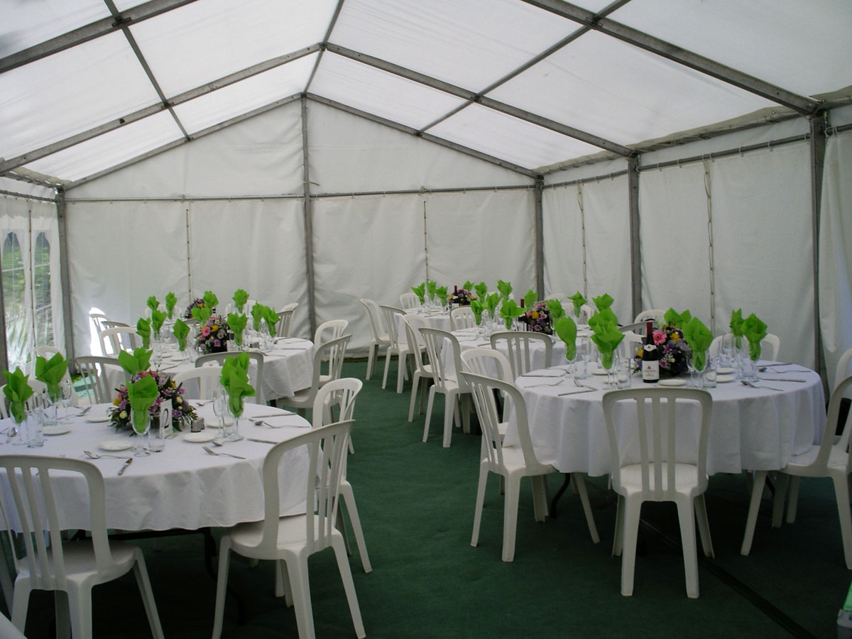 Unlined Marquees