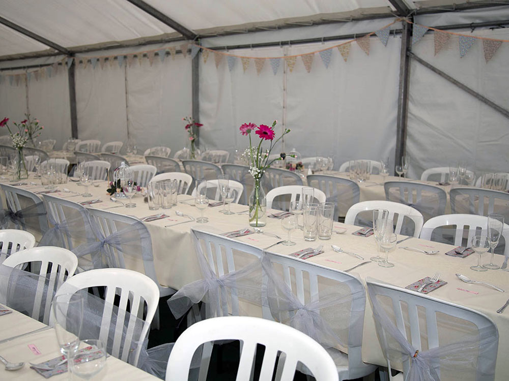 Sarah and Richard Wedding Marquee