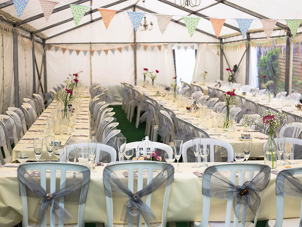 Sarah and Richard Wedding Marquee 2