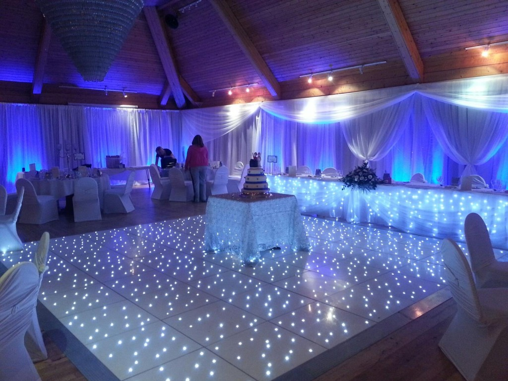 Wedding Marquee Dance Floor
